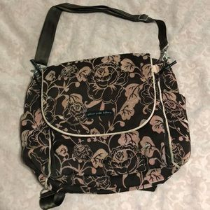 Petunia Pickle Bottom boxy chenille diaper bag